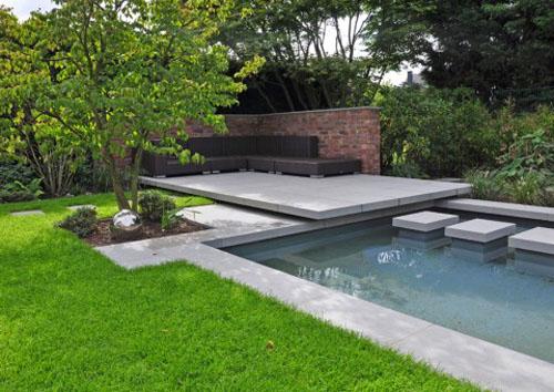 Water garden design
